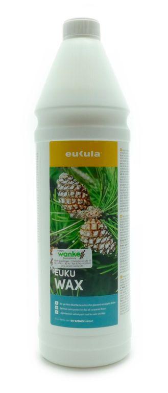 eukula euku wax 1 l pflege reinigung f r pvc cv linoleum. Black Bedroom Furniture Sets. Home Design Ideas
