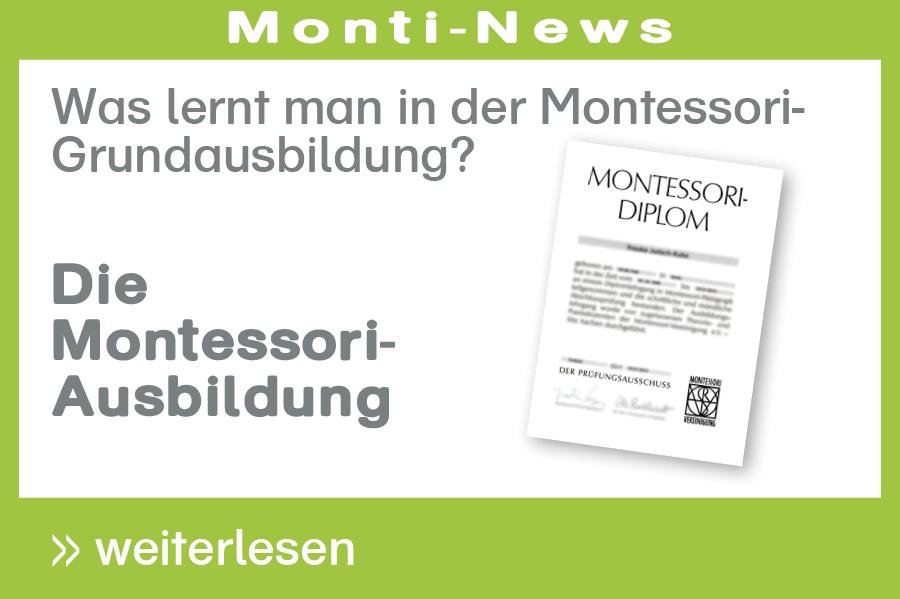 Montessori-Ausbildung