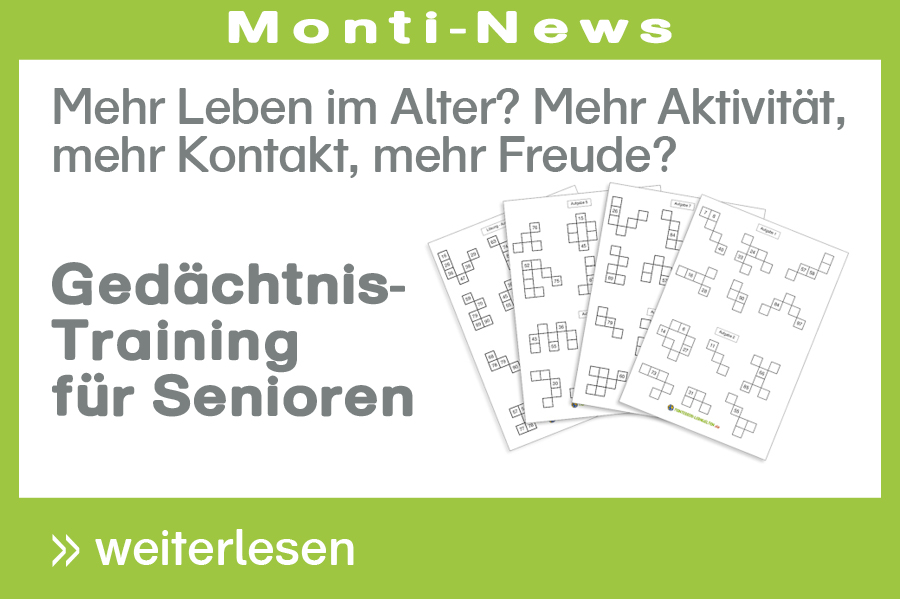 Gedächtnistraining für Senioren