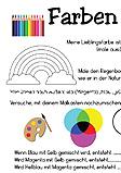 Arbeitsblatt Farben