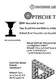 Arbeitsblatt optische Täuschung