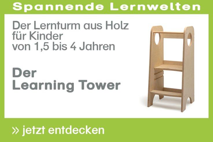 Learning Tower - Der Lernturm aus Holz