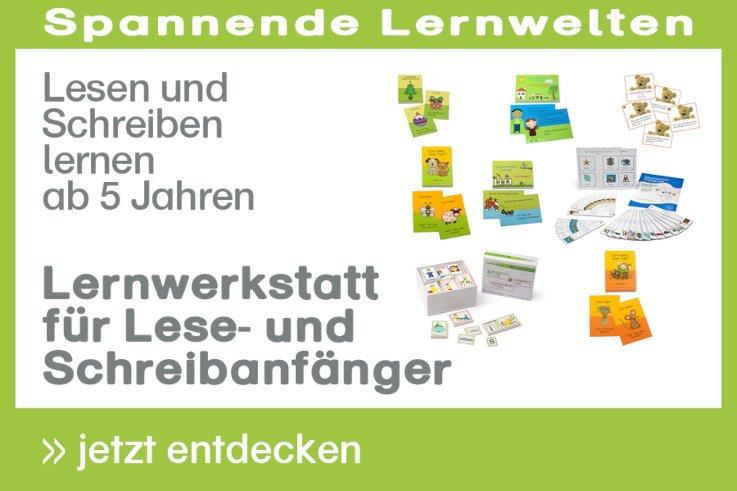[Paket] Lernwerkstatt für Lese- und Schreibanfänger - Lesen und Schreiben lernen