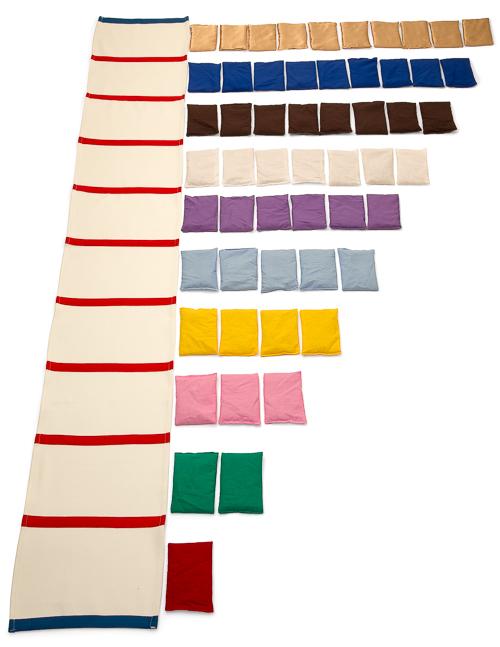 Zahlenstrahl-Teppich 1 - 10