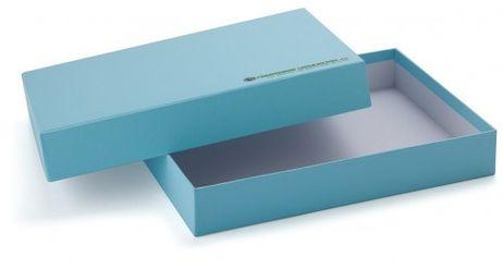 Aufbewahrungsbox A6 blau