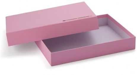Aufbewahrungsbox A4 rosa