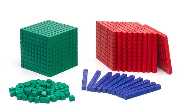 Farbiger Mathematischer Würfel