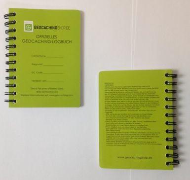 Offizielles Geocaching Logbuch A7 – Spiralbindung