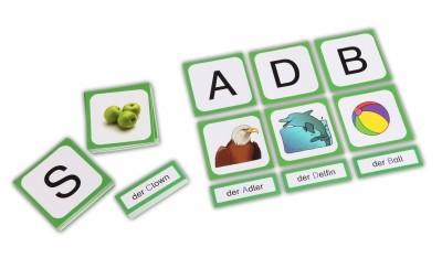 Das ABC Legespiel - Buchstaben , Bilder , Anlaute , Wörter