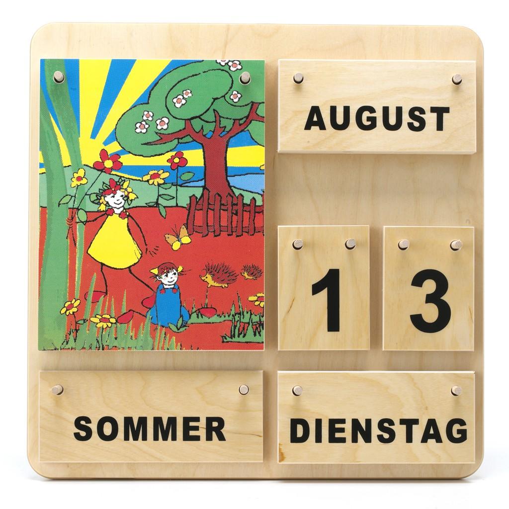 Dauerkalender aus Holz