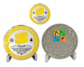 500 Finds Geo Achievement Award Set inkl. Pin