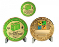 1000 Finds Geo Achievement Award Set inkl. Pin