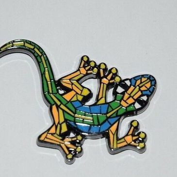Gecko Geocoin (Black-Nickel)