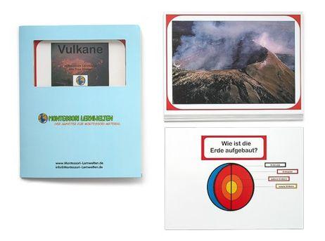 Lernkartei - Vulkane
