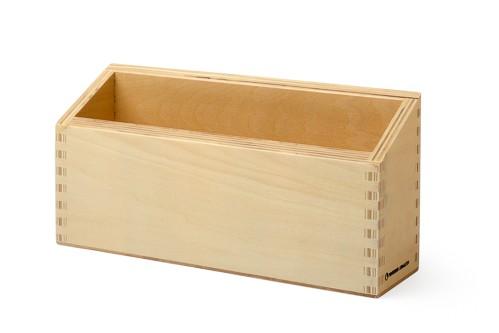 A5 Format Karteibox aus Holz