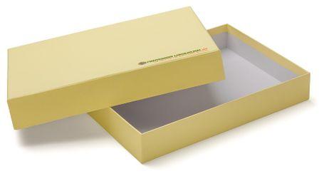 Aufbewahrungsbox A6 gelb