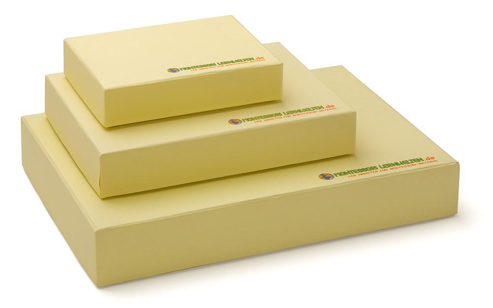 Aufbewahrungsbox A5 gelb