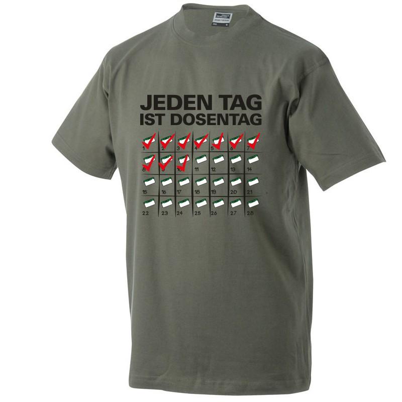 Original Geocaching Shirt Jeden Tag Ist Dosentag Inklusive