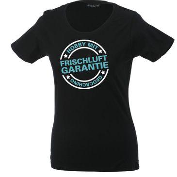 Original Geocaching Shirt Hobby mit Frischluftgarantie
