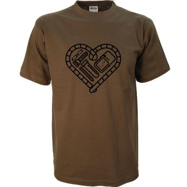 Original Geocaching Shirt Herz