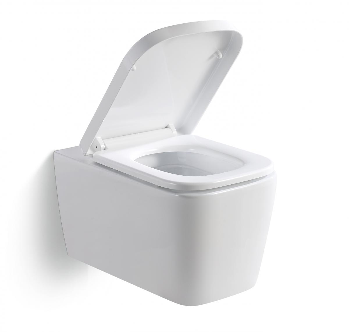 Maße und Anschlüsse der Toilette