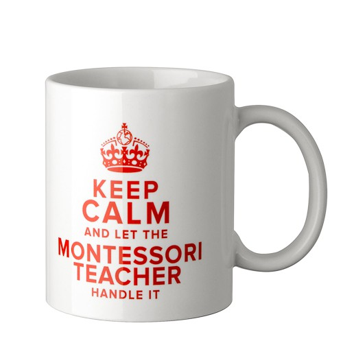 Montessori-Tasse Keep calm