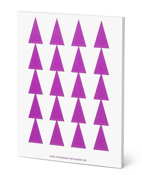Wortartensymbol Pronomen Montessori Aufkleber