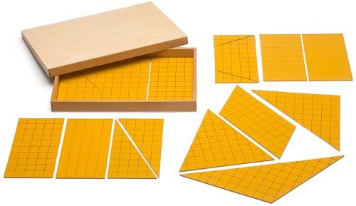 Dreiecke für die Flächenberechnung
