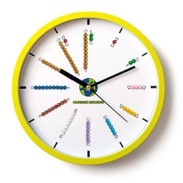 Montessori Perlenstäbchen-Uhr