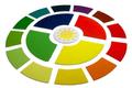 Gran cerchio dell'anno della Montessori, con 17 elementi