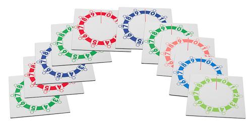 Anleitung Stellenwertkreise Set 1