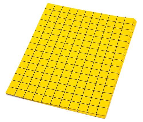 20 Blatt Papier für die Flächenberechnung