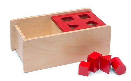 Imbucare-Kasten mit vier Formen