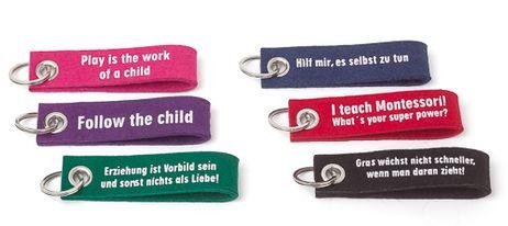 Montessori-Schlüsselanhänger *GRATIS AB 40 EURO BESTELLWERT*