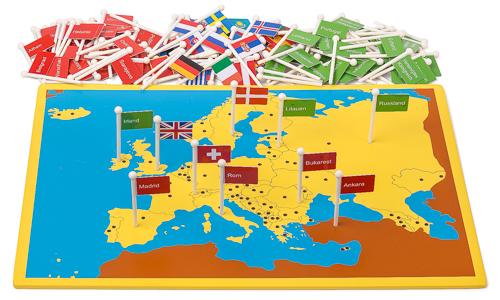Cartina Con Capitali Europa.Mappa Tascabile Dei Paesi E Delle Capitali D Europa Materiale Montessori It Il Negozio Per I Materiali Montessori Materiali Di Perle Matematica Materiali Sensoriali