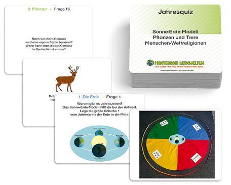 Arbeitskartei für Jahreskreis und Jahreskette