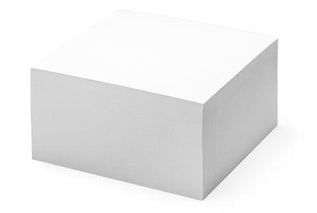 Abreißblock mit 500 Blatt 14 x 14 cm Papier