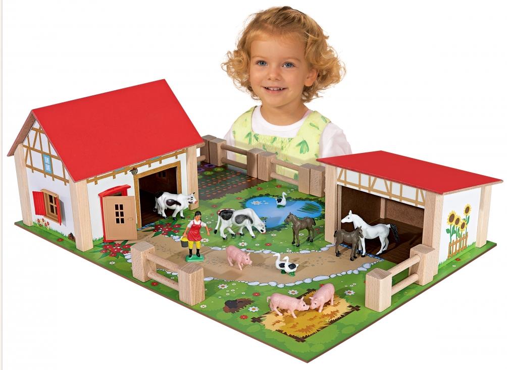 Montessori Bauernhof, klein