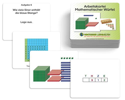 Arbeitskartei Mathematischer Würfel