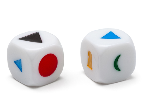 Wortartensymbole-Würfel