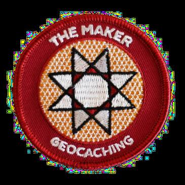 Geocaching.com® Patch - Maker Madness
