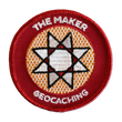 Geocaching.com® Patch - Maker Madness