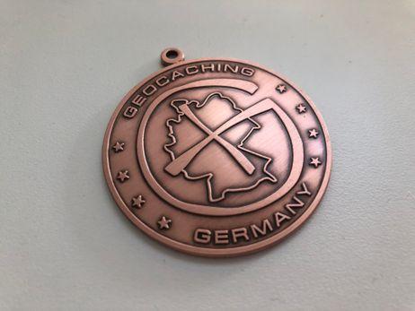 "Germany Geocoin ""Kupfer Edition"""