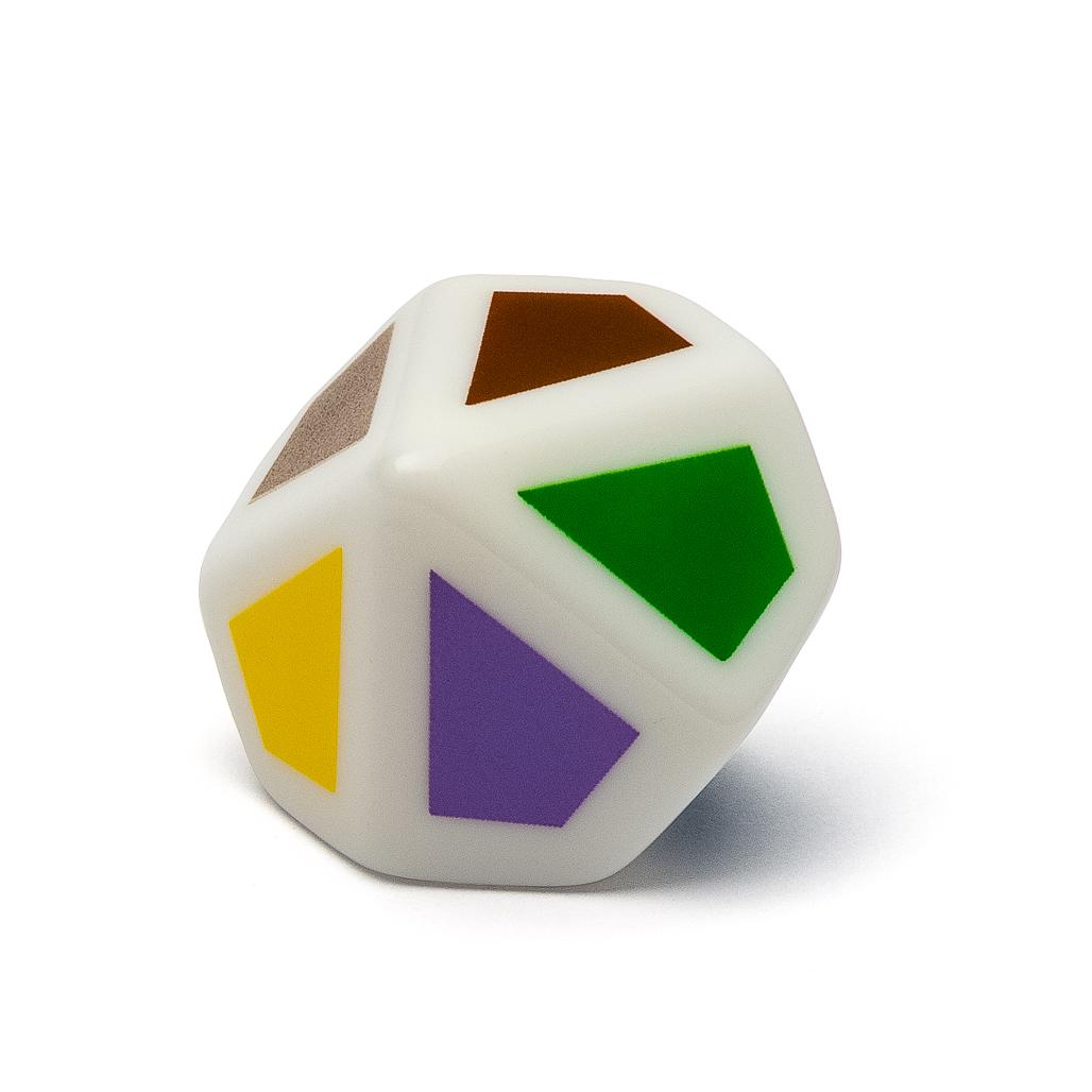 5 Montessori-Farbwürfel mit Spielanleitungen