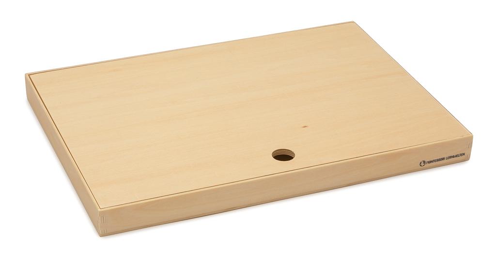 A4 Format Holzkiste mit Deckel