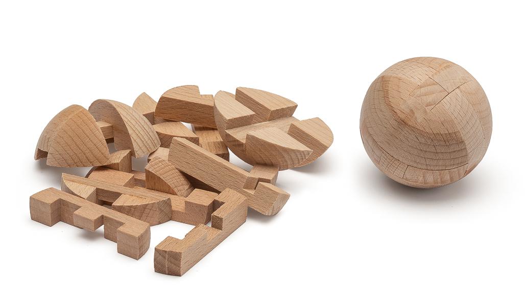 3D Holzkugelpuzzle