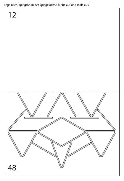 Experimentelle Geometrie mit Streichhölzern