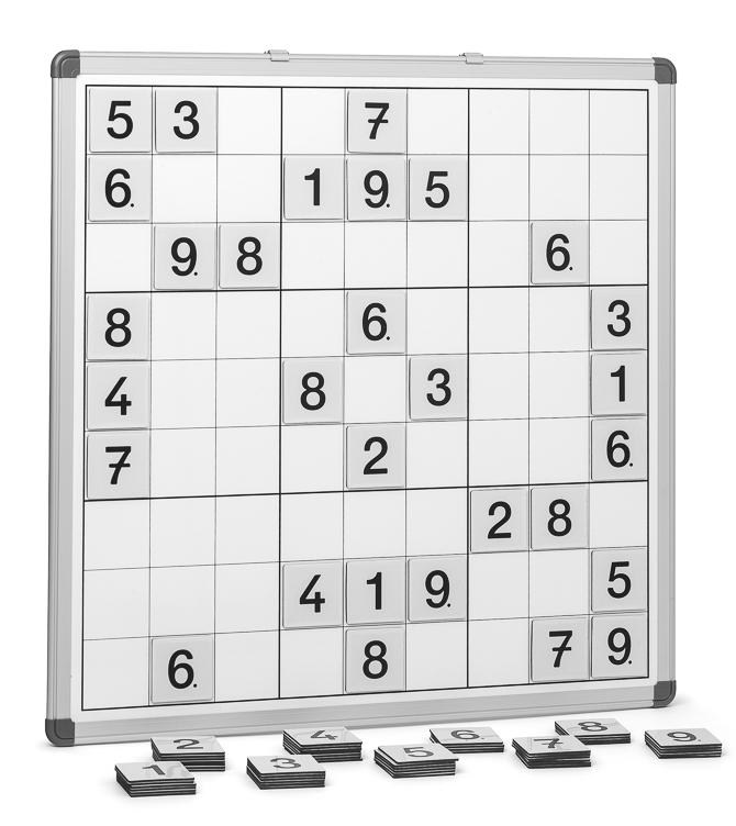 Sudoku-Magnettafel, 60 x 60 cm