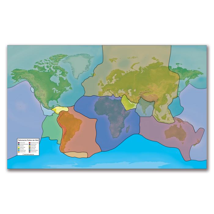 Lernposter Tektonische Platten