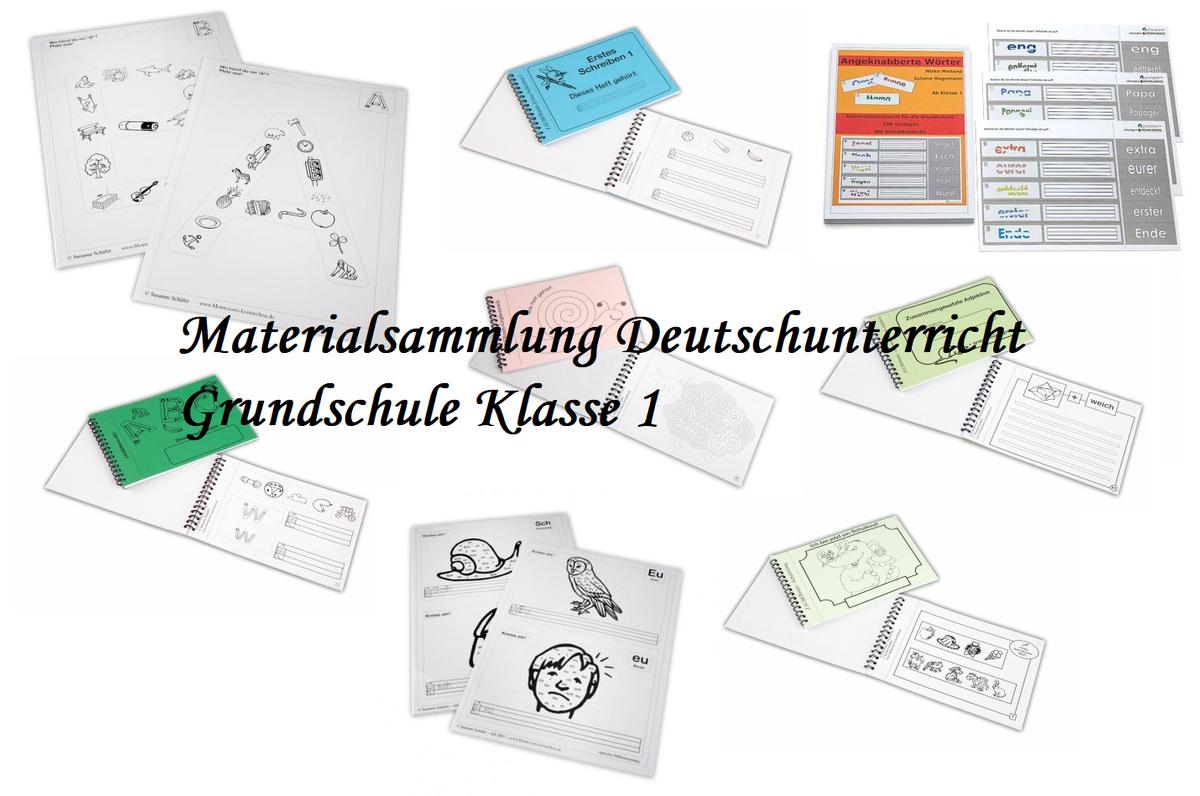Paket] Sparset Deutsch Klasse 20   Arbeitsblätter und ...